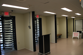 shipping containers, turnstiles, turnstiles
