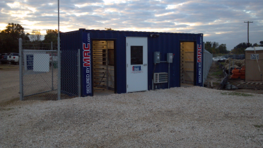 MSSI, patented MAC Portal, perimeter security system, perimeter security solution, turnstiles in a container, Turnstiles in a container, turnstile, Modular Security Systems Inc