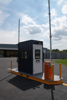 MSSI, patented MAC Portal, Modular Security Systems Inc, portable perimeter security, turnstile, turnstiles, access control turnstiles, perimeter security system, perimeter turnstiles, Turnstiles in a container