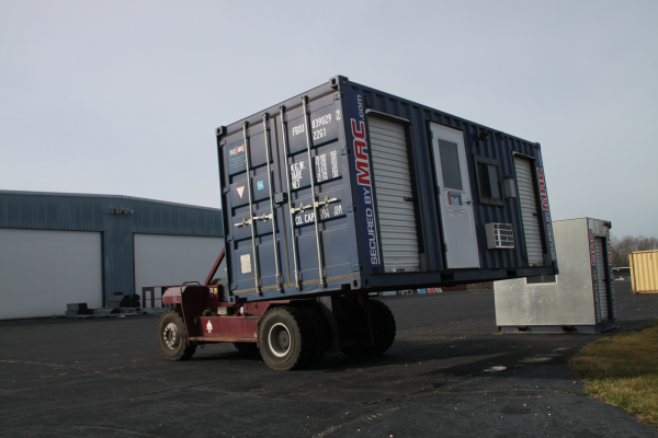 mssi, mac portal, turnstiles in a container, perimeter security system