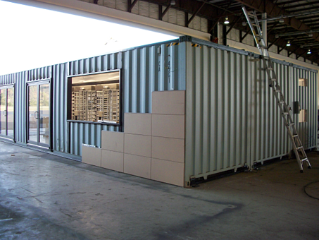 V-Series MAC Portal, MAC Portal, Guard house with turnstiles, guard shack with turnstiles