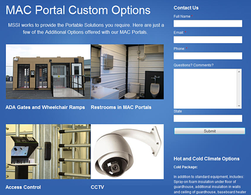 custom mac portal options, mac portal options, custom options for mac portal
