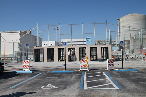 MAC Portal, MSSI, turnstiles, turnstile, access control, turnstiles in a shipping container