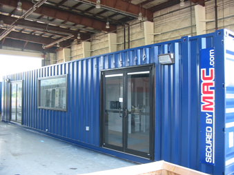 V-Series MAC Portal, Turnstiles in a portable guardhouse, security turnstiles