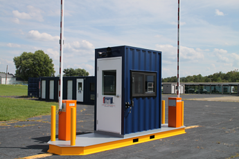 MSSI, MAC Portal, Turnstile, Turnstiles, turnstiles in a guard office, Modular Security Systems Inc, vehicle access control, vehicle barrier arms