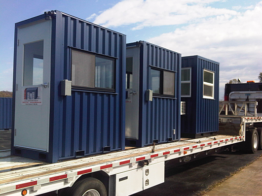 portable guard booth, portable guard shack, portable guard hut, modular guard shack, modular guard booth