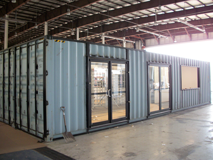 turnstiles, iso shipping containers, turnstile, turnstiles in a container, mac portal