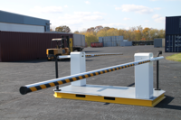 mssi, portable vehicle barrier arms, portable vehicle barrier gate, vehicle barrier gate