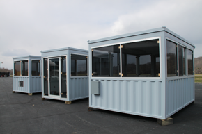 MSSI, Modular Security Systems Inc, guard shack, portable guard shack, guard house, portable guard house, pre fabricated guard booth, pre fabricated guard house