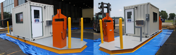 MSSI,turnstile,turnstiles,patented MAC Portal,Modular Security Systems Inc,vehicle barrier arms in a guard house,vehicle barrier gate,access control,portable perimeter security