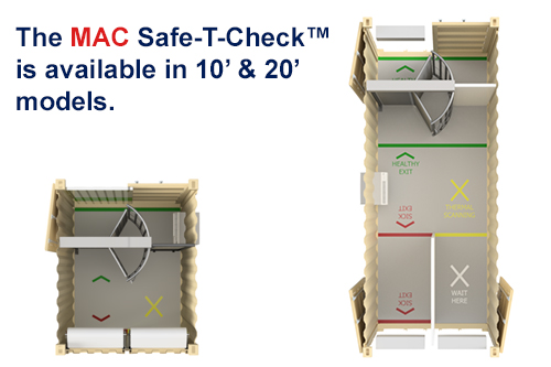 10 and 20 FT MAC Safe T Check