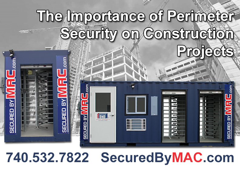 MSSI, Turnstiles, patented MAC Portal, access control, Modular Security Systems Inc, patented Modular Access Control MAC Portal
