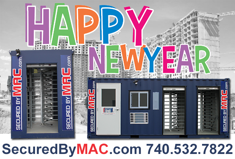 MSSI, Modular Security Systems Inc, patented Modular Access Control MAC Portal, Happy New Year