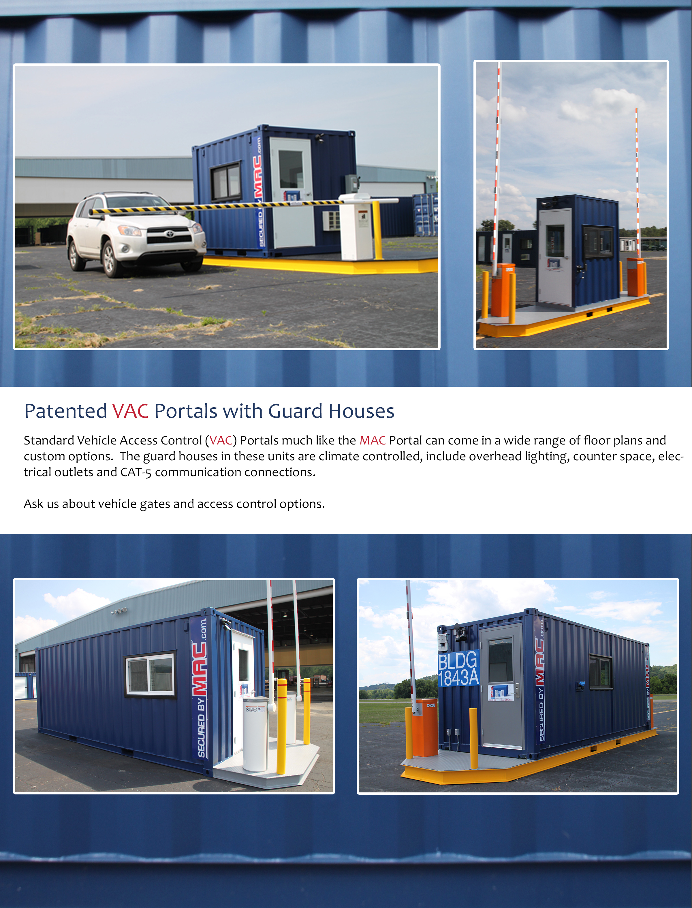 MSSI, Modular Security Systems Inc, vehicle access control, vehicle access control portal, vehicle barrier arms, vehicle barrier gate