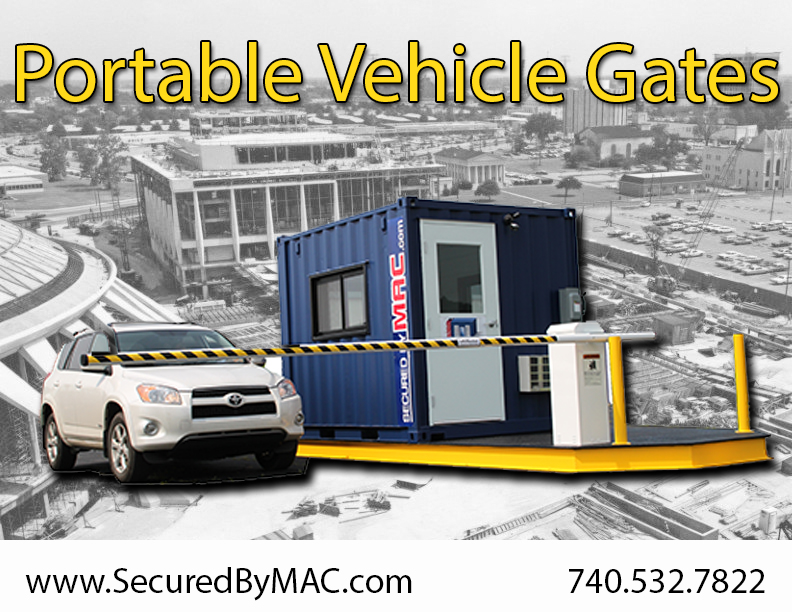 MSSI, Modular Security Systems Inc, vehicle access control, modular vehicle access control, vehicle access control portal, modular vehicle access control portal, portable vehicle access control, vehicle barrier arms, vehicle barrier gate