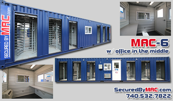Modular Access Control, MSSI, Turnstile, Turnstiles, patented MAC Portal, Modular Security Systems Inc, perimeter security for construction sites