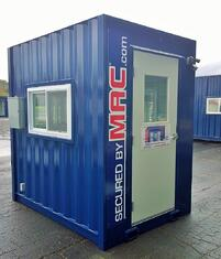 MSSI, portable guard booth, modular guard booth, modular guard shack, guard house, pre fabricated guard booth, Modular Security Systems Inc, portable guard shack, turnstiles in a guard booth, portable guard house, guard shack
