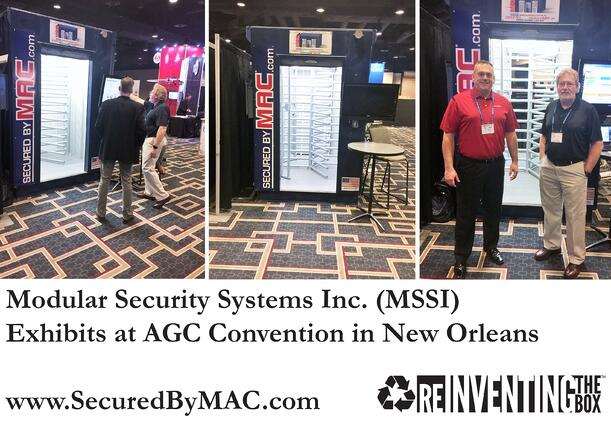 MSSI, Modular Security Systems Inc, access control turnstiles, AGC, Associated General Contractors, Trimble CrewSight