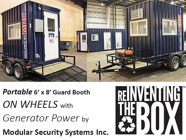 Modular Security Systems Inc, portable perimeter security, perimeter security solution, facebook, guard booth, guard booths