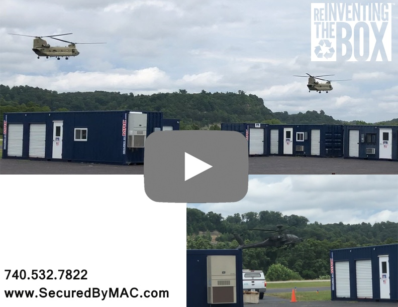 MSSI, Modular Security Systems Inc, military helicopters, Ashland Regional Airport, helicopter video, helicopters landing video