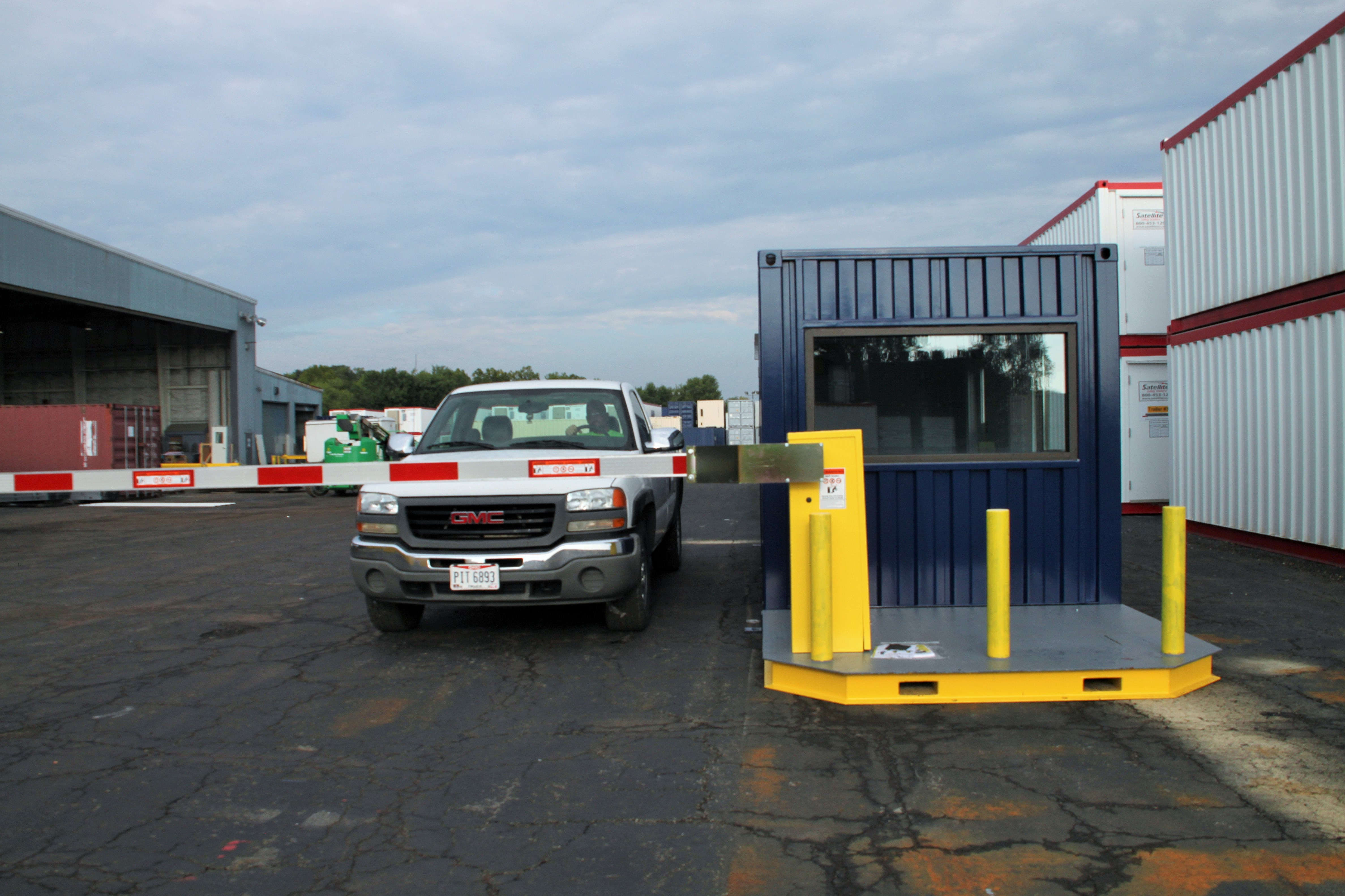 MSSI, Modular Security Systems Inc, vehicle access control, modular vehicle access control, vehicle access control portal, modular vehicle access control portal, portable vehicle access control, vehicle barrier arms, portable vehicle barrier arms, vehicle barrier gate