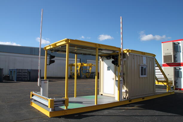 MSSI, Modular Security Systems Inc, vehicle access control, modular vehicle access control, modular vehicle access control portal, portable vehicle access control, vehicle barrier arms, portable vehicle barrier arms, vehicle barrier gate