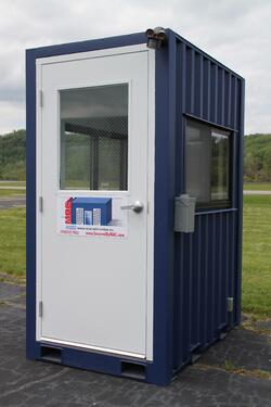 MSSI, portable guard booth, modular guard booth, modular guard shack, guard house, Modular Security Systems Inc, portable guard shack, portable guard house, guard shack