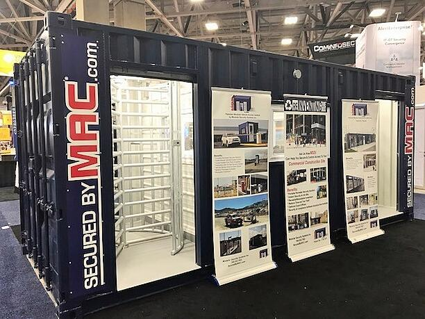 MSSI, perimeter access control, Turnstile, Turnstiles, Modular Security Systems Inc, access control turnstiles, ASIS, commercial construction perimeter security, custom perimeter security, industrial construction perimeter security, ASIS 2017