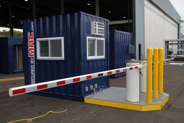 Mssi extendable vehicle access control barrier gates