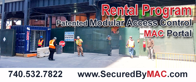 turnstile rental, rent turnstiles, MAC Portal Rental, rent access control turnstiles, MSSI Rental Program, rent a MAC Portal, rent MAC Portals