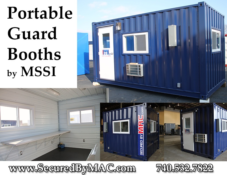 guard booths, guard house, guard booth, modular guard booth, portable guard house, Modular Security Systems Inc, MSSI