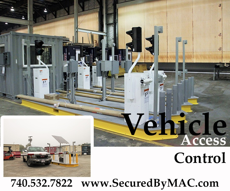 vehicle barrier gate, vehicle barrier arms, modular guard booth with vehicle barrier arms, vehicle access control, modular vehicle access control, vehicle access control portal, modular vehicle access control portal, portable vehicle access control, portable vehicle barrier arms, Modular Security Systems Inc