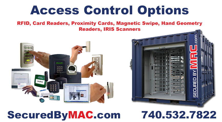 Modular Access Control, Turnstile, patented MAC Portal, access control, access control in a guard house, turnstiles with access control