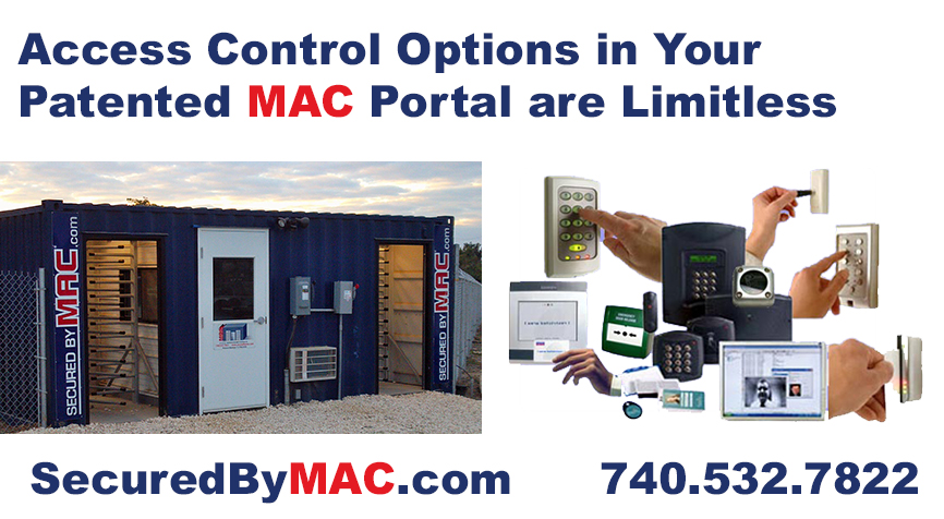 Modular Access Control, Modular Security Systems, MSSI, guardhouse with access control turnstiles, access control, access control turnstiles, access control gate, turnstiles with access control
