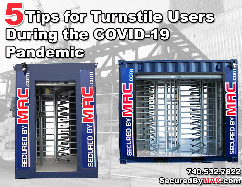 Modular Access Control, Modular Security Systems, MSSI, Turnstile, Turnstiles, coronavirus, turnstile cleanliness, COVID-19