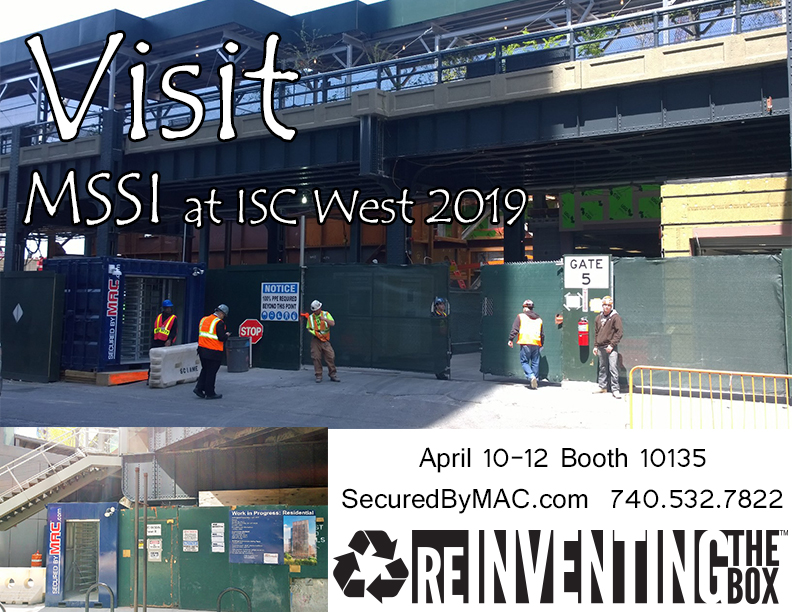 MSSI, Modular Security Systems Inc, ISC West 2019