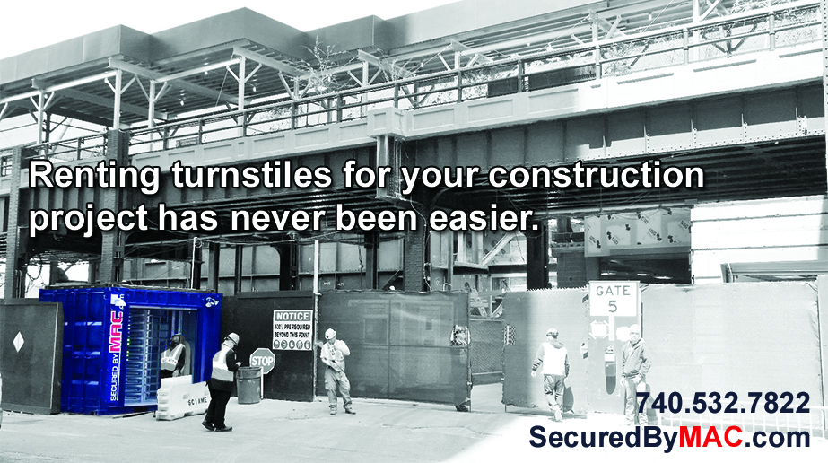 MSSI, Modular Security Systems Inc, turnstile rental, rent turnstiles, MAC Portal Rental, rent access control turnstiles
