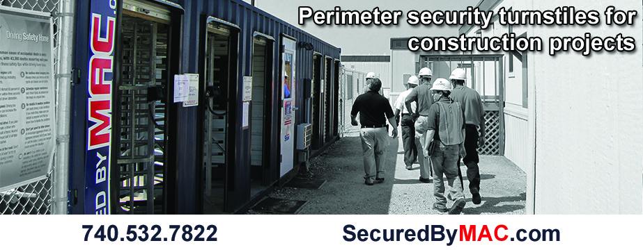 MSSI, perimeter turnstiles, turn-key perimeter security solution, Modular Security Systems Inc, portable perimeter security, perimeter security solution, perimeter security for commercial construction