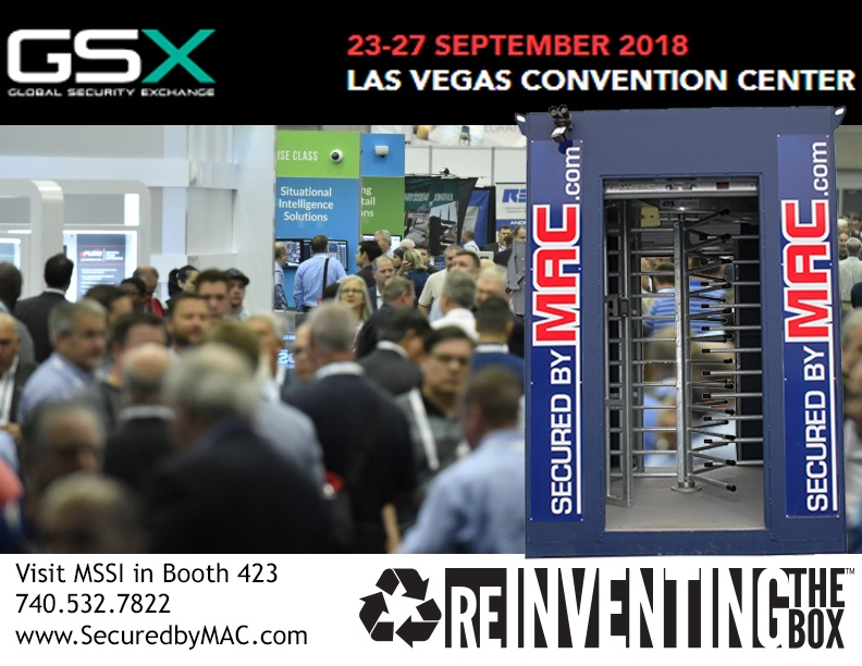 Modular Access Control, MSSI, patented MAC Portal, Modular Security Systems Inc, GSX 2018, Global Security Exchange