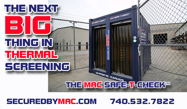 thermal screening, thermal screening technology, thermal screening turnstile, thermal screening access control, MSSI, Modular Security Systems Inc