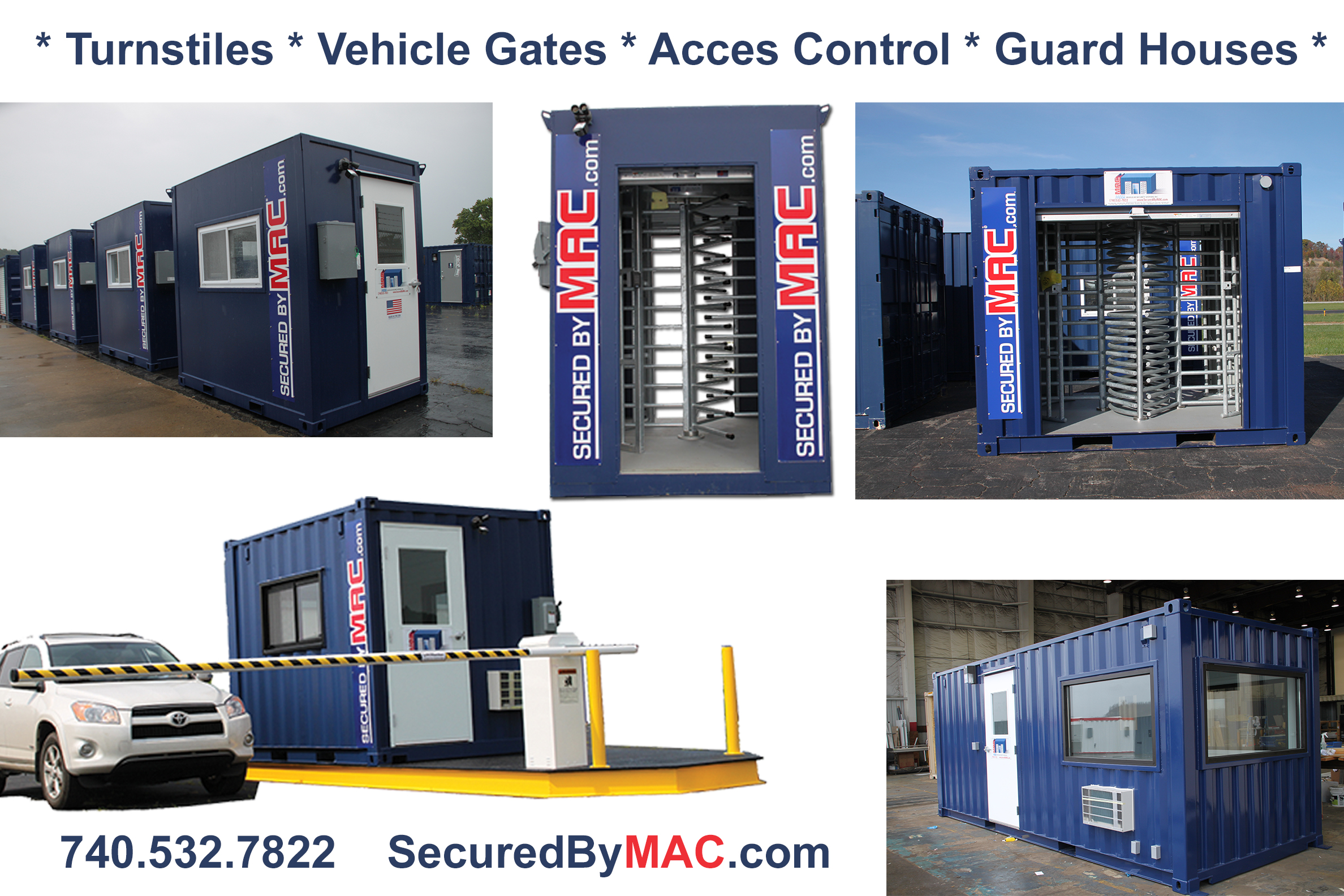 MSSI, Turnstile, Turnstiles, access control, Modular Security Systems Inc, portable guard house, vehicle gate, vehicle gates