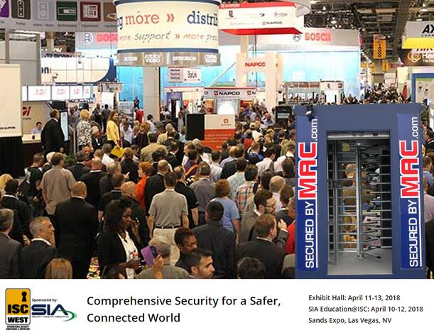 MSSI, Modular Security Systems Inc, turnstiles in a container, perimeter security solution, perimeter security system, ISC West 2018