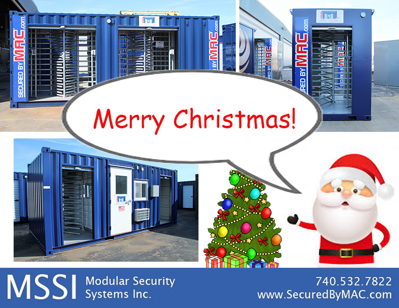 MSSI, Modular Security Systems Inc, Merry Christmas