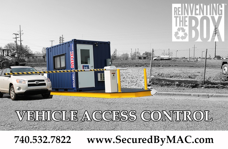 vehicle barrier gate, vehicle barrier arms in a guard house, modular vehicle access control portal, vehicle access control, modular vehicle access control, vehicle access control portal, portable vehicle access control, Modular Security Systems Inc, VAC Portal