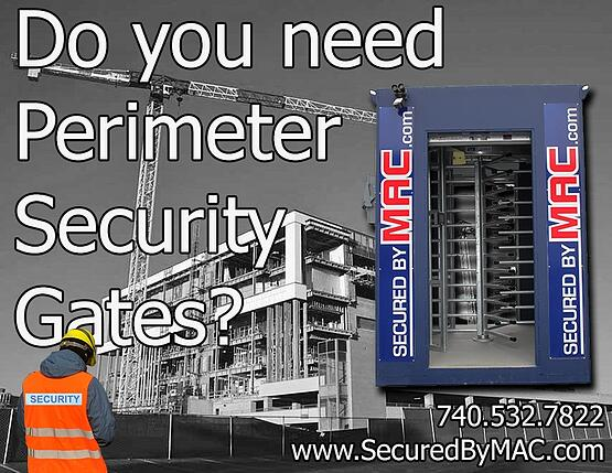 MSSI, mac portal with ada gate, ada gate in a mac portal, Modular Security Systems Inc, vehicle barrier gate, security gate, access control gate, perimeter gate, portable perimeter security gate