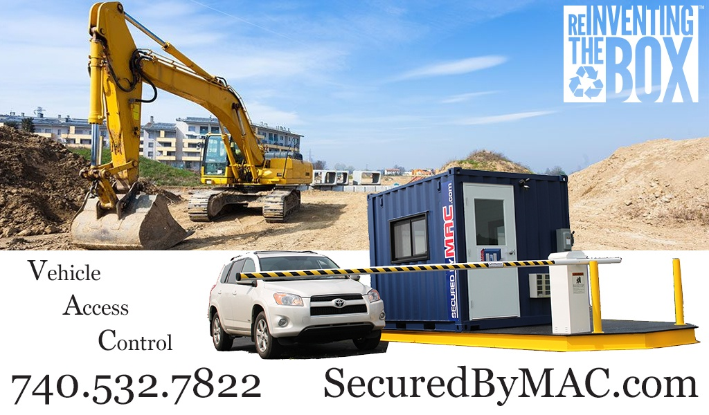 MSSI, Modular Security Systems Inc, vehicle access control, vehicle access control portal, portable vehicle access control, portable vehicle barrier arms, vehicle barrier arms in a guard house, vehicle barrier gate, VAC Portal