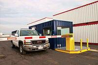 Vehicle Access gate, perimeter vehicle gate, portable vehicle gate
