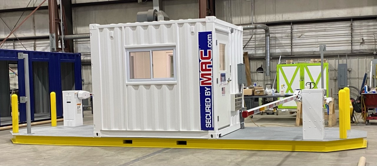 White VAC2 with Guardhouse