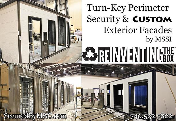 MSSI, perimeter access control, Modular Security Systems Inc, perimeter security solution, custom perimeter security, custom exterior facade