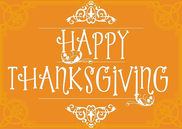 MSSI, Modular Security Systems Inc, Thanksgiving, Happy Thanksgiving
